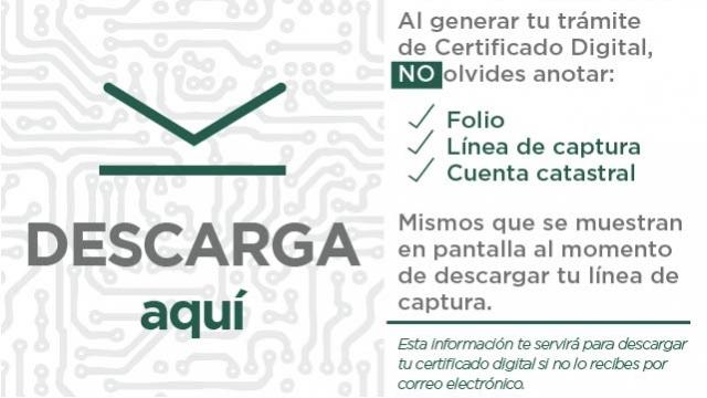 Descarga el Certificado Digital