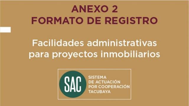 Anexo 2 - Formato de Registro (SAC Tacubaya)