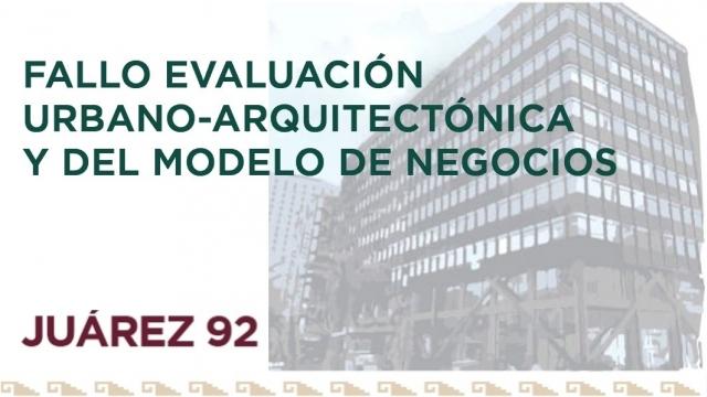 Fallo Evaluación Urbano - Arquitectónica y del Modelo de Negocios